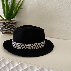 Rag & Bone Abbott Wool Fedora Hat